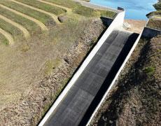 Cressbrook Dam Spillway